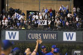 Chicago Cubs Flags Flags Tell Winning Story At Wrigley This Season Chicago Tribune