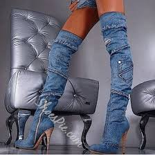 s knee high leather boots on sale buy 1 get 1 free for stylish denim knee high boots knee high boot high boots