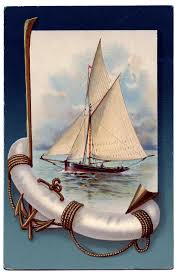 vintage nautical clip beautiful sailboat the graphics