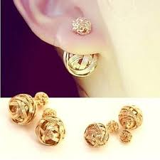 trendy gold earrings earrings picture more detailed picture about new fashion