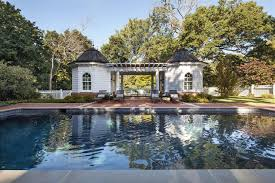 Colonial Revival Homes by Douglas Vanderhorn Architects Colonial Revival Pool House