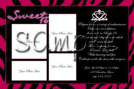 sweet 16 birthday invitations templates sweet 16 birthday