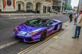 lamborghini aventador purple tron lamborghini aventador roadster madwhips