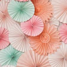 mariage decoration paper fan 3pcs lot 20cm wholesale retai tissue