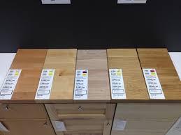 stratifi cuisine plan de travail chene clair avec comparaison plan de travauil bois