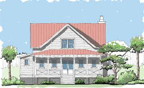 compass cove u2014 flatfish island designs u2014 coastal home plans