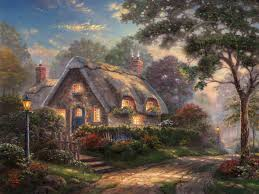 lovelight cottage limited edition the kinkade company