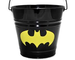 easter pail batman etsy