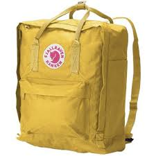 warm yellow kanken classic warm yellow backpack book culture