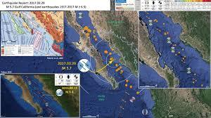 California Fault Map Earthquakes Earthjay Science