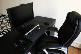 best black gaming computer desk gallery home design ideas