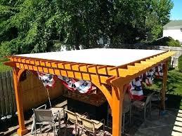 pergola covers s retractable diy roof cover ideas for rain