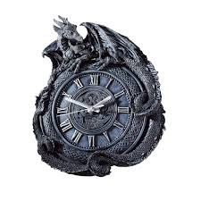 amazon com design toscano penhurst dragon clock home u0026 kitchen