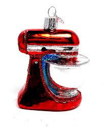 amazon com old world christmas kitchen stand mixer appliance