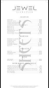 jewel nightclub vip table bottle service sheets vip
