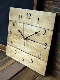 remodelaholic 9 cool wood projects november link party diy clock ideas the idea room