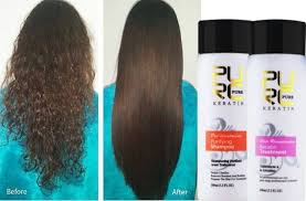 keratin treatment on black hair before and after best brazilian keratin straighten purc hair repair kit treatment