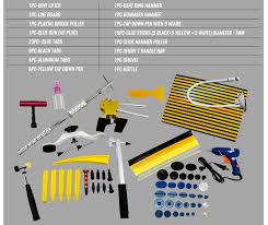 lexus dent warranty pdr slide hammer puller lifter kit paintless dent repair tabs hail