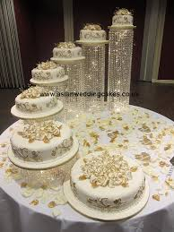 are these the most elaborate wedding cakes of all time fondant