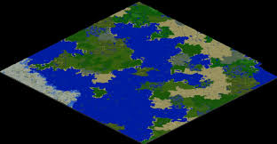 World Map Biomes large biomes vs vanilla 10000x10000 comparison map render recent