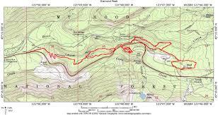 Mt Hood Trail Map Oregon Hikers U2022 View Topic Enid Lake Via Laurel Hill