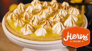 tarte au citron meringuée hervé cuisine recette facile tarte au citron meringuée nouvelle version 2017