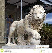 marble lion lion marble sculpture stock photo image of background 34181300