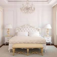 dallas white tufted headboard bedroom eclectic with sleigh bed