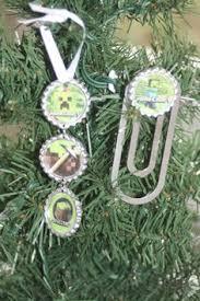 Decorate Christmas Tree Minecraft custom minecraft lego steve christmas tree ornament ebay mine