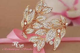 bridal bracelet gold images Gold wedding gold wedding bracelet 2243418 weddbook jpg