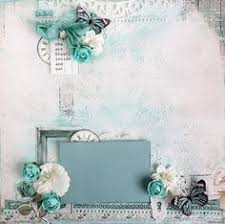 scraps of elegance scrapbook kits shabby chic sisters layout