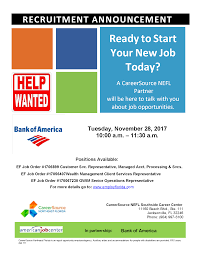 current job opportunities bank of america information session u2013 csnefl southside career