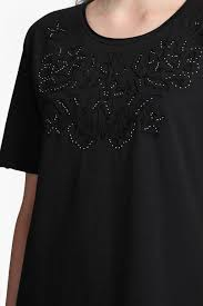 esme ribbon embellished t shirt collections french connection