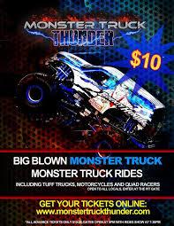 monster truck thunder tickets
