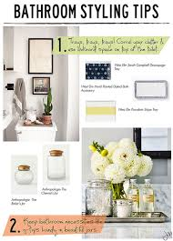 bathroom styling ideas julip made bathroom styling tips bath decorating and house