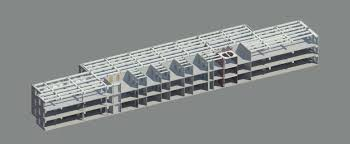 beautiful floor plan for commercial building 5 exterior section