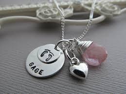 baby name necklaces dicas de presentes para mãe de recém nascido sted jewelry