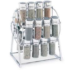 Revolving Spice Rack 20 Jars Thompson 20 Jar Ferris Wheel Spice Rack Filled