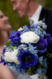 Blue Wedding Bouquets Blue Flowers For Wedding Bouquets Flower Ideas