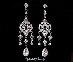 vintage wedding earrings chandeliers best 25 bridal chandelier earrings ideas on fashion