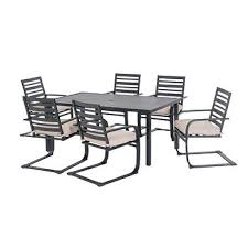 Bjs Patio Furniture by Sunjoy 7 Pc Outdoor Dining Set Bj U0027s Wholesale Club
