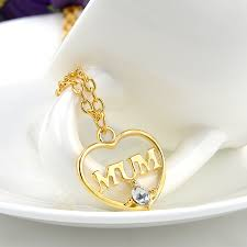 s day necklace aliexpress buy gold color heart pendant