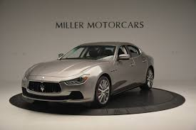used maserati ghibli 2016 maserati ghibli s q4 ex loaner stock m1551 for sale near