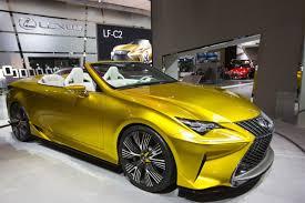lexus rc 300 canada lexus shows off lf c2 convertible concept toronto star