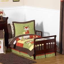 Forest Bedding Sets Sweet Jojo Designs 5 Woodland Forest Toddler Comforter Set