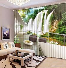 Fashion Home Decor by 2017 Home Decor Modern Waterfall Balcony Curtain Living Room