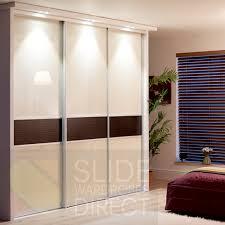 Sliding Closet Door Panels 3 Panel Sliding Closet Doors Womenofpower Info
