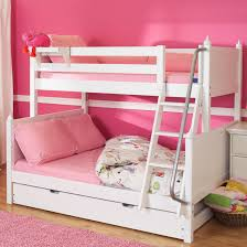White Twin Over Full Bunk Beds By Maxtrix Kids - Maxtrix bunk bed