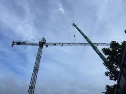 tower crane allen crane hire