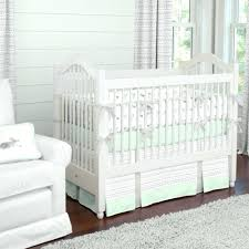 Baby Nursery Bedding Sets Neutral Decoration Baby Nursery Bedding Set Neutral Silver Gray And Mint